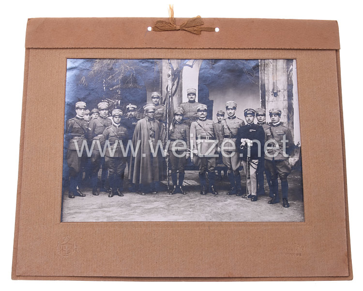 Königreich Italien Foto, Italienischer Offiziere