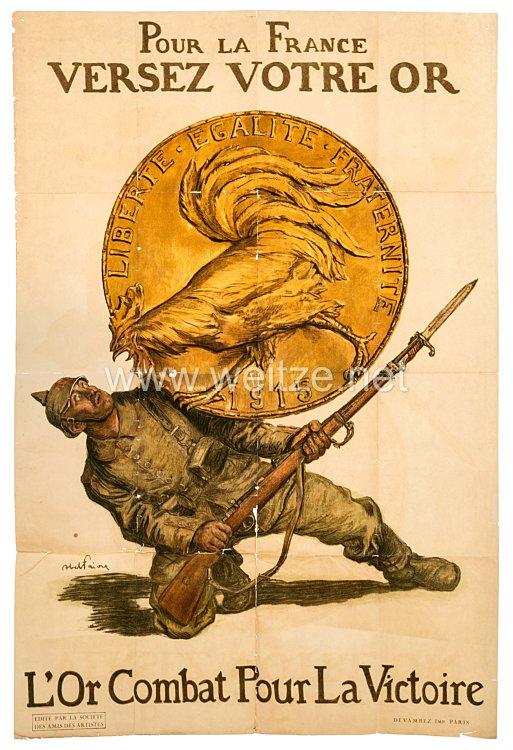 Frankreich 1. WeltkriegGroßes Plakat
