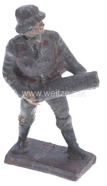 Lineol - Luftwaffe Flak-Soldat mit Kartusche