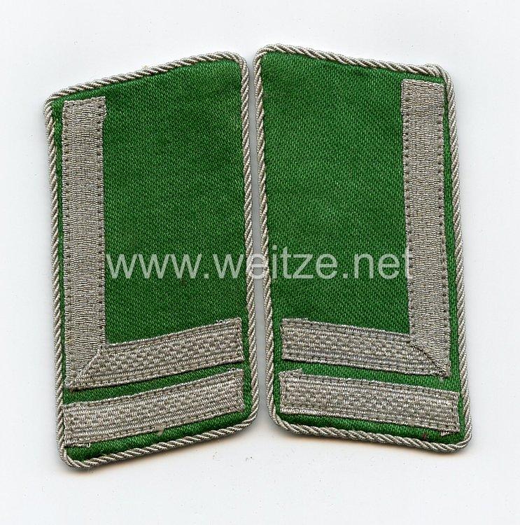 Schutzmannschaften - Schuma - Paar Kragenspiegel für einen Vize-Feldwebel