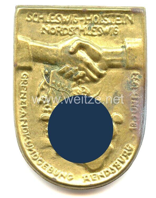 III. Reich - Schleswig-Holstein - Nordschleswig - Grenzlandkundgebung Rendsburg 18. Juni 1933