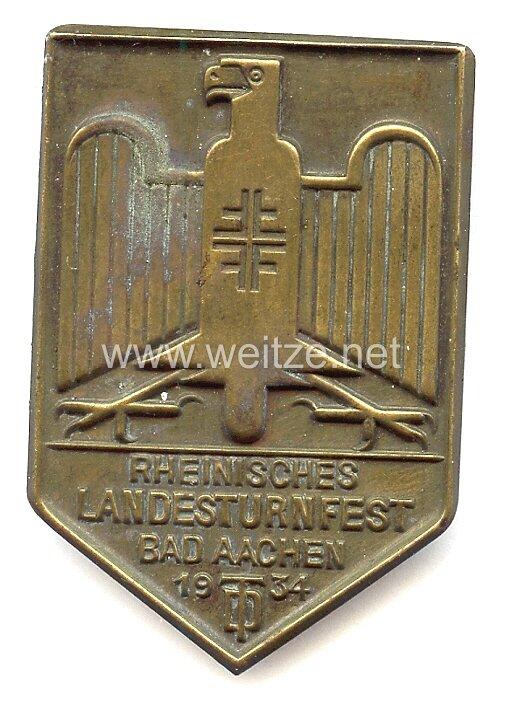 III. Reich - Rheinisches Landesturnfest Bad Aachen 1934