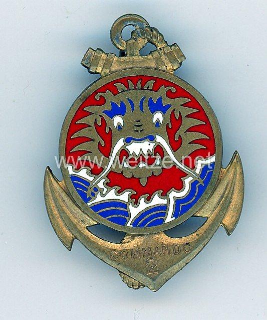 """Frankreich Indochina Abzeichen """"Commando 2"""""""