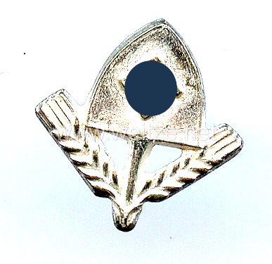 Reichsarbeitsdienst ( RAD ) Dienstauszeichnung für Männer 3. Stufe in Silber - Miniaturauflage für die Bandspange