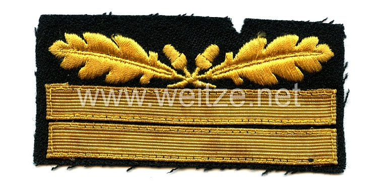 Waffen-SS Rangabzeichen für die Tarnuniform
