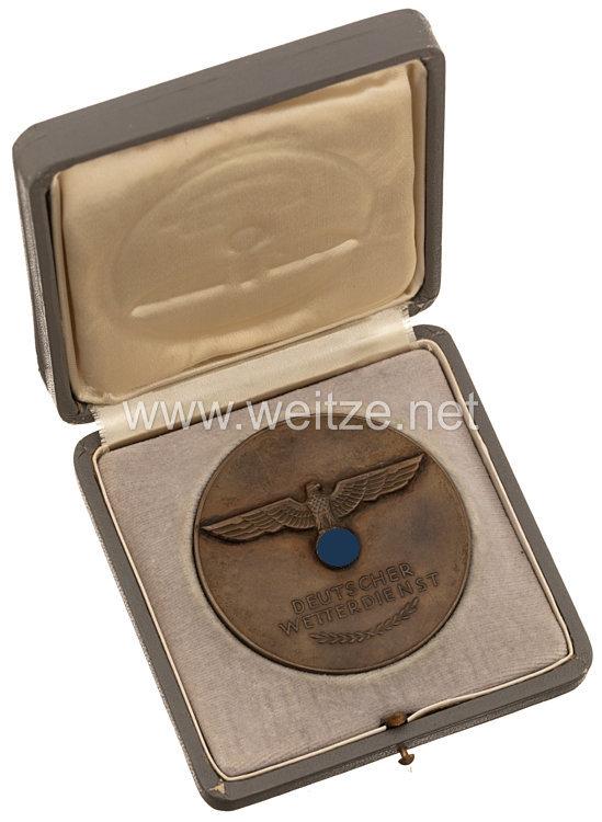 III. Reich Deutscher Wetterdienst Große nichttragbare Auszeichnungsplakette