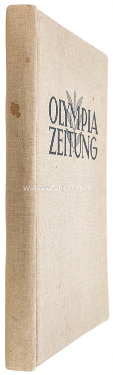 XI. Olympischen Spiele 1936 Berlin - Olympia Zeitung Nummer 1-30 komplett in Sammelmappe