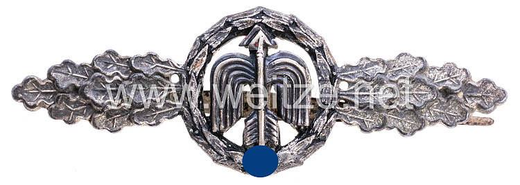 Frontflugspange für Nah-Nachtjäger in Silber