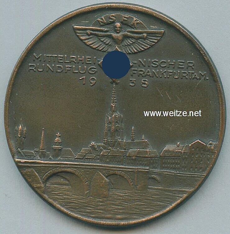 NSFK bronzene Erinnerungs-Medaille