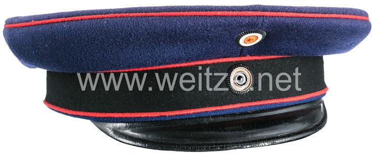 Preußen Schirmmütze für einen Unteroffizier in einem Feldartillerie-Regiment