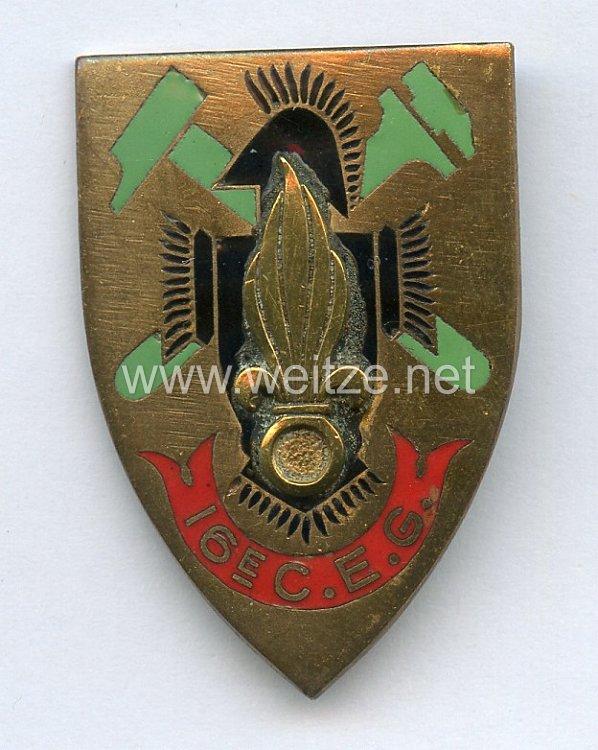 Frankreich Fremdenlegion Indochina Abzeichen 16. C.E.G