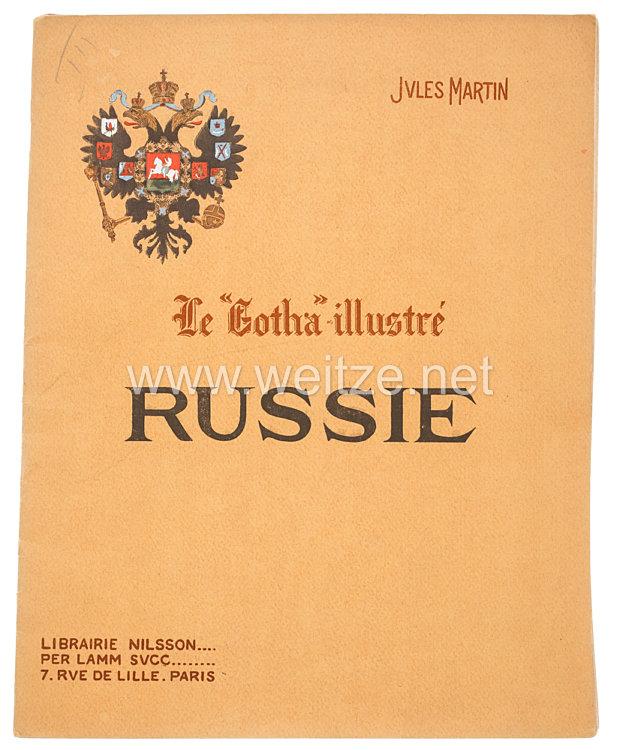 """Zaristisches Rußland - Buch """" Russie """" über die russische Armee"""