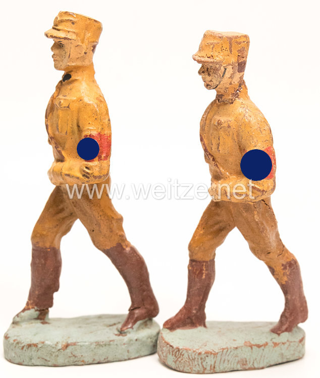 Elastolin - 2 SA Männer marschierend