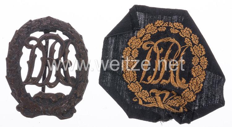 Deutsches Turn- und Sportabzeichen 1919-1934 DRA in Bronze