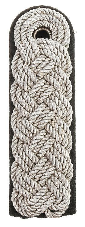 Allgemeine-SS bzw. SS-Verfügungstruppe: Einzel-Schulterstück für einen SS-Brigadeführer bis SS-Oberstgruppenführer