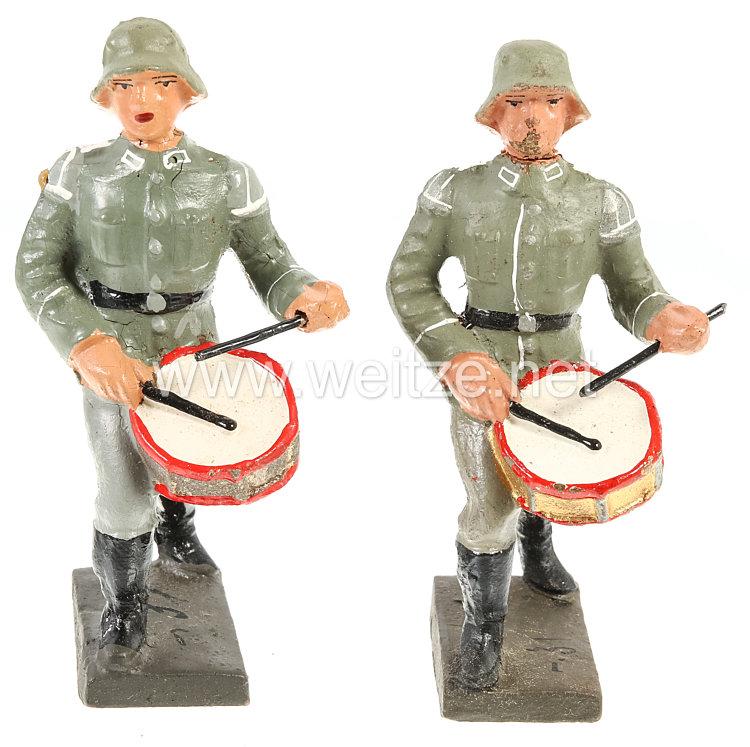 Lineol - Heer 2 Trommler marschierend