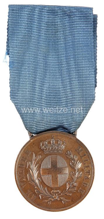 Italien 2. Weltkrieg bronzene Tapferkeitsmedaille