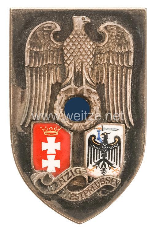 NSDAP Traditions-Gauabzeichen Danzig-Westpreussen Vorlagestück