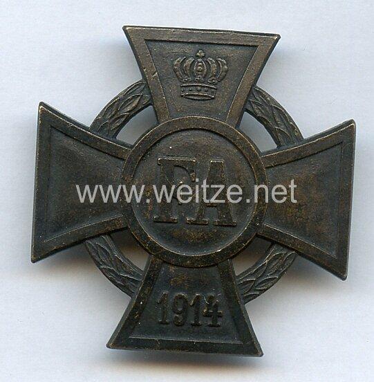 Oldenburg Friedrich August-Kreuz 1. Klasse 1914