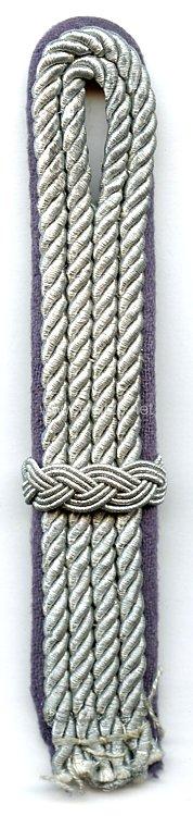RLB Reichsluftschutzbund Schulterstück für einen Oberluftschutzführer