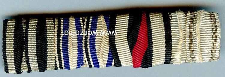 Bandspange für einen bayerischen Veteran im 1. Weltkrieg