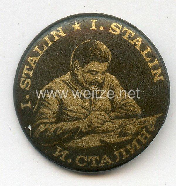 Sowjetunion Stalin Anstecker