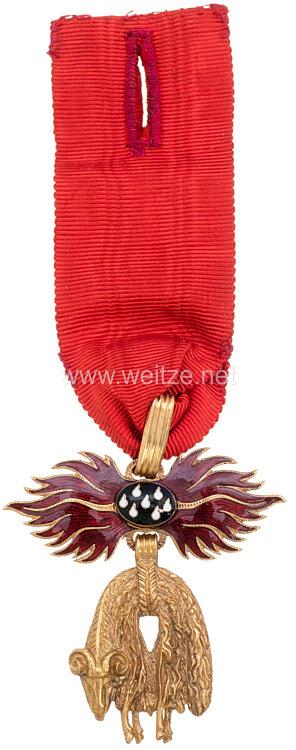 K. u. K. Monarchie Österreich Orden vom Goldenen Vlies, sogenannte Uniformdekoration