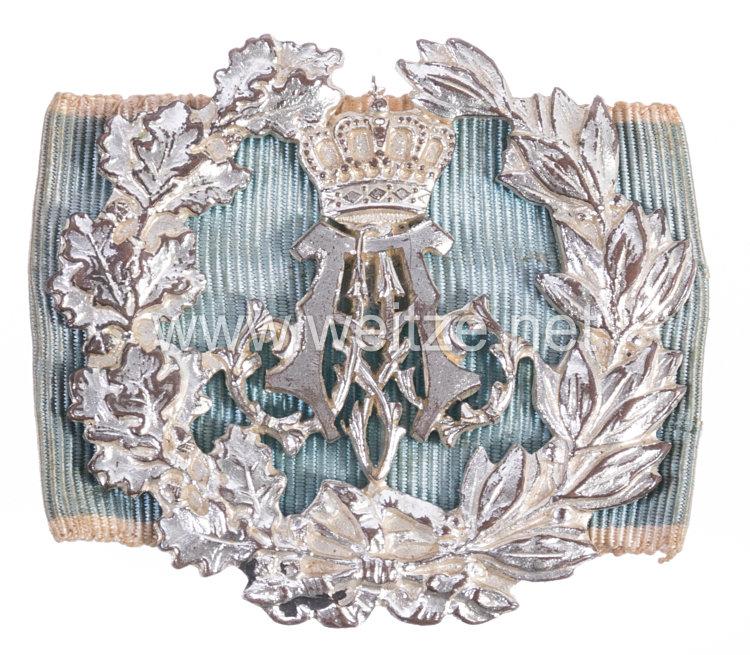 Bayern Prinz Alfons silbernes Schießabzeichen