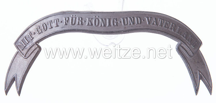 Preußen Bandeau für Mannschaftspelzmütze Husaren feldgrau
