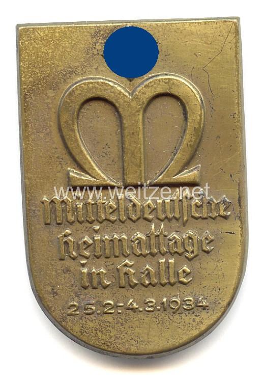 III. Reich - Mitteldeutsche Heimattage in Halle 25.2. - 4.3.1934