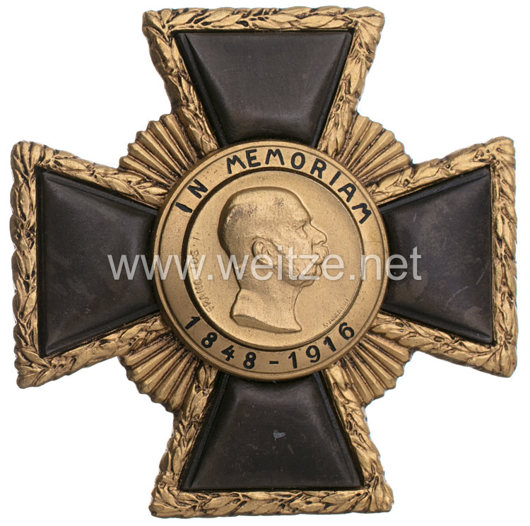 Österreich Kaiser-Franz-Joseph-Gedenkzeichen 1. Klasse