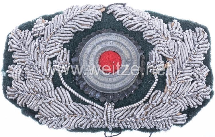 Wehrmacht Heer Eichenlaubkranz für die Offiziersschirmmütze