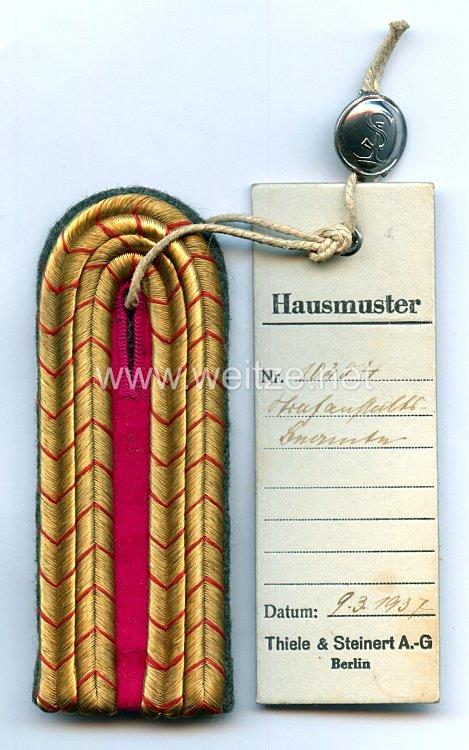 III. Reich Einzel Schulterstück für einen Beamten einer Strafanstalt