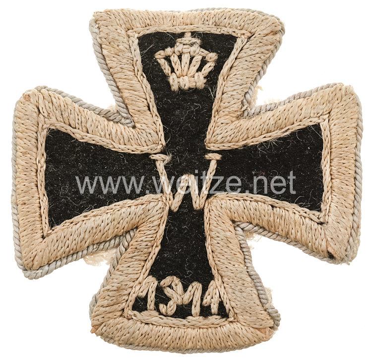 Eisernes Kreuz 1914 1. Klasse - handgestickte Stoffausführung