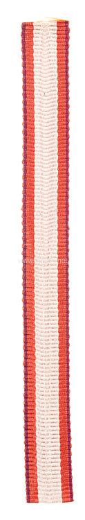 Feuerwehr-Ehrenzeichen - Band für die Miniatur