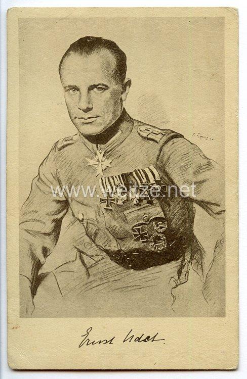 Fliegerei 1. Weltkrieg - Propaganda-Postkarte -