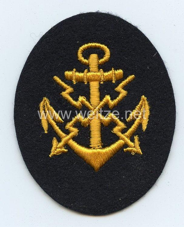Kriegsmarine Ärmelabzeichen Laufbahn Fernschreibmaat