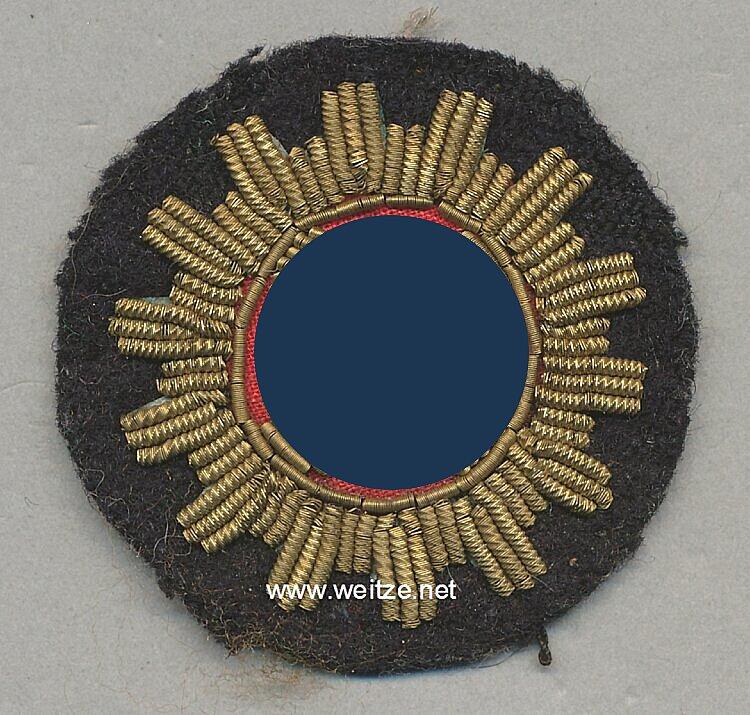 DAF Deutsche Arbeitsfront: Ärmelabzeichen für die Deutsche Delegation in Italien 1936