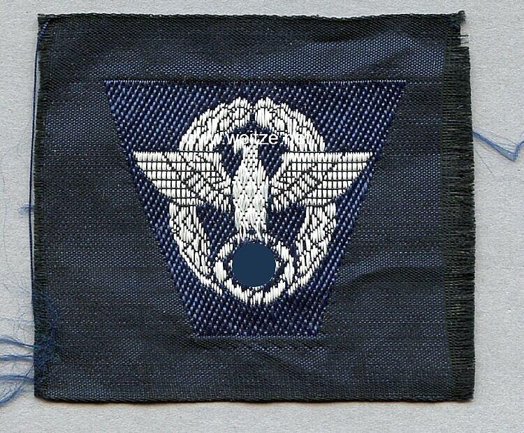 Polizei Schiffchenadler für Mannschaften