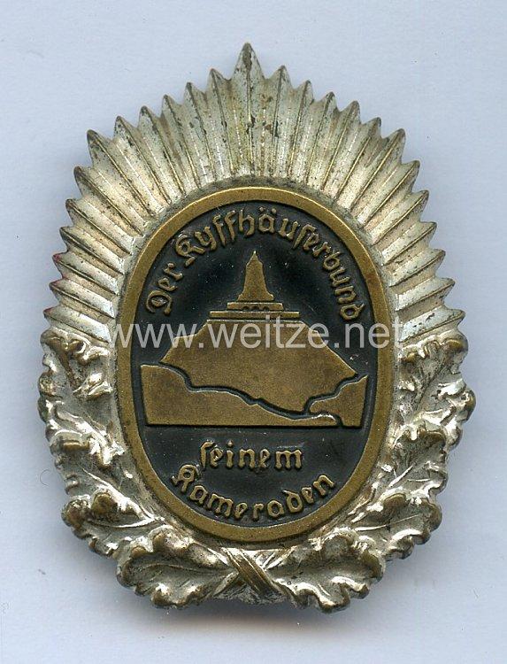 Kyffhäuserbund Ehrenzeichen 1. Klasse 2. Modell 1935-1938