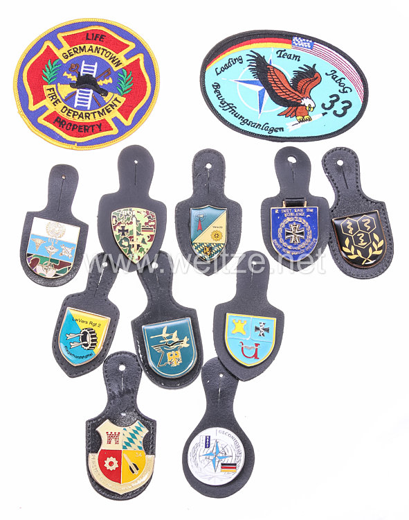 Bundesrepublik Deutschland ( BRD ) Bundeswehr verschiedene Verbandsabzeichen