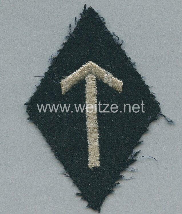 Allgemeine-SS Ärmelraute für Angehörige des SS-Hauptamt Abteilung Ergänzung, Erfassung und Schulung