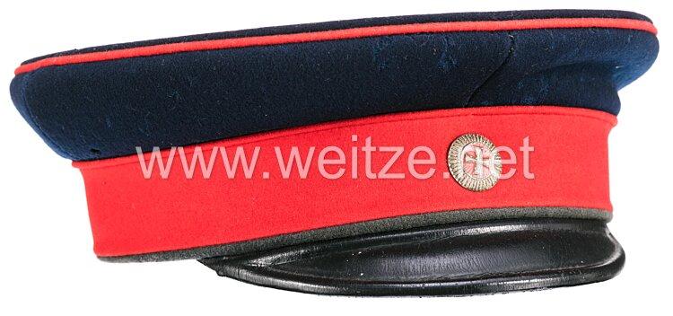 Hessen Schirmmütze für einen Offizier im 1. Großherzoglich Hessischen Landwehr-Regiment Nr. 115