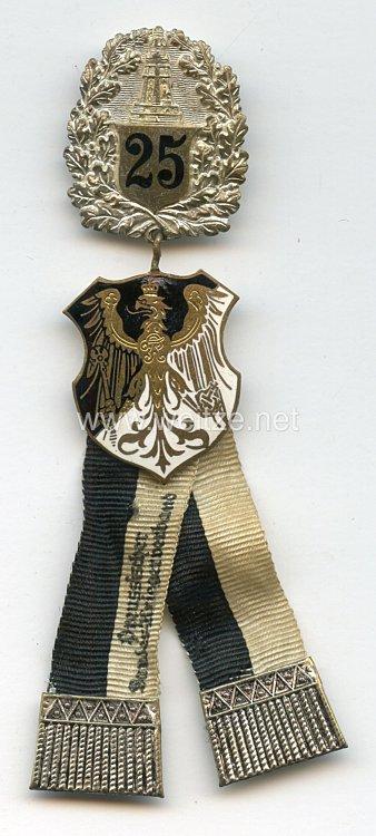 PreußenPreußischer Landeskriegerverband Mitgliedsabzeichen mit Ehrenzeichen für 25jährige Mitgliedschaft