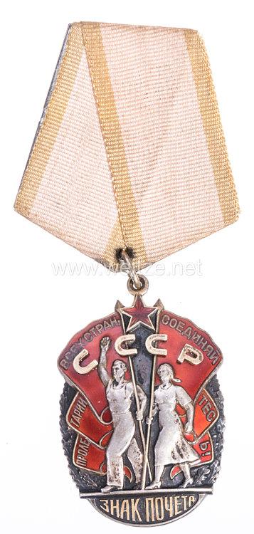 """Sowjetunion Orden """"Zeichen der Ehre"""""""