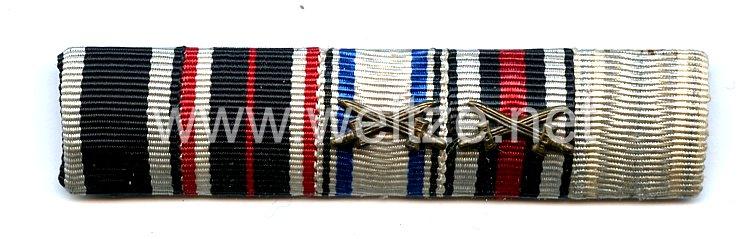 Bandspange eines bayerischen Veteranen des 1. Weltkriegs und verdienten Zivilisten im III.Reich