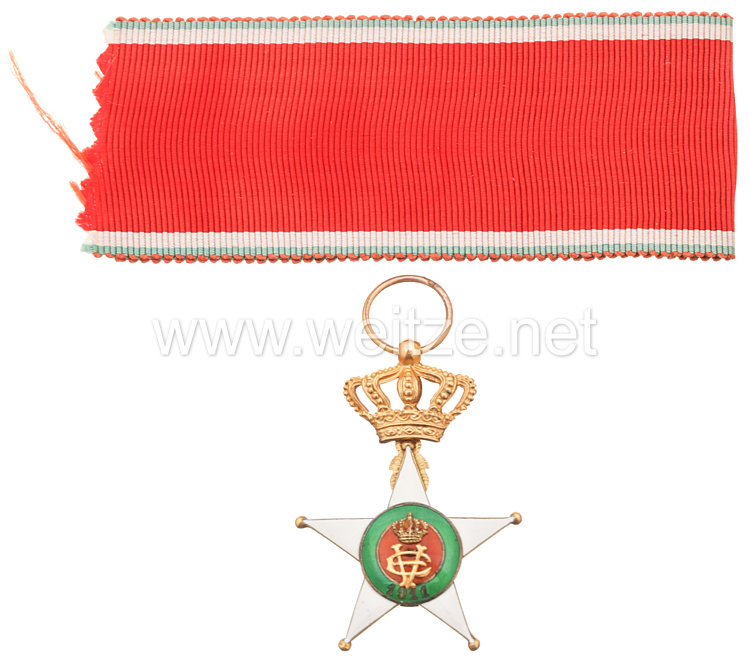 Königreich Italien Kolonial-Orden vom Stern von Italien Ritterkreuz