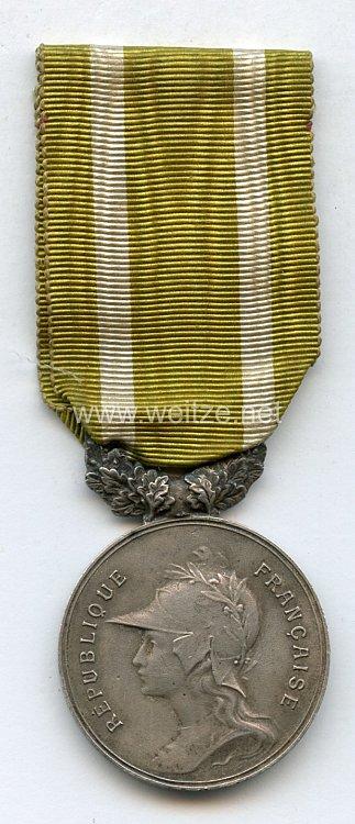 """Frankreich Medaille """"societe d encouragement au devouement """""""