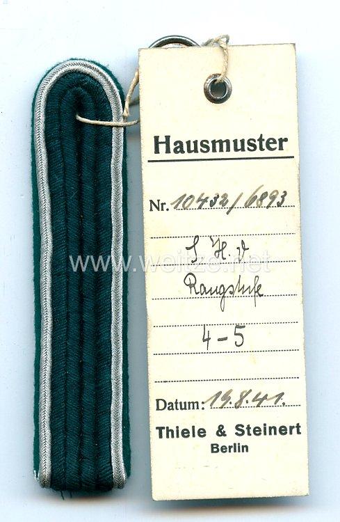 Luftwaffe Einzel Schulterstück, Angehöriger des Reichsluftfahrtministerium der Luftwaffen-Inspektion Rangstufe 4 - 5