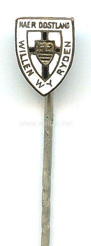 Freikorps, Einwohnerwehren u.ä. - Soldaten-Siedlungs-Verband Kurland ( SSVK ) -Zivilabzeichen 2. Form klein